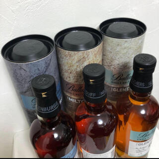 バランタインカシミヤ(BALLANTYNE CASHMERE)のバランタインシングルモルト、3本、新品 箱付(ウイスキー)