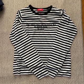 レピピアルマリオ(repipi armario)のレピピ カットソー Sサイズ新品(Tシャツ/カットソー)