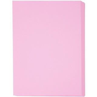 カラーペーパー ピンクA4(カード/レター/ラッピング)