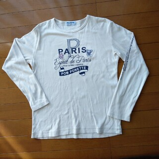 ポンポネット(pom ponette)のPom Ponette 長袖Tシャツ(Tシャツ/カットソー)