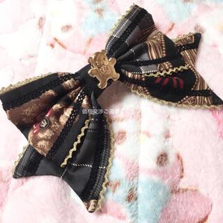 アンジェリックプリティー(Angelic Pretty)のHoliday Collection リボンバレッタ ホリデーコレクション(バレッタ/ヘアクリップ)