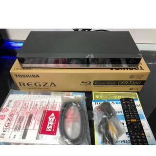 トウシバ(東芝)の東芝DBR-T360 2TBブルーレイレコーダー 3D対応HDD使用時間ゼロ 2(ブルーレイレコーダー)
