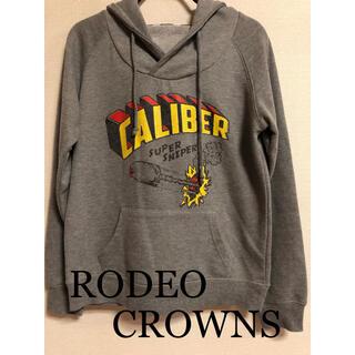 ロデオクラウンズ(RODEO CROWNS)のRODEO CROWNS パーカー グレー(パーカー)