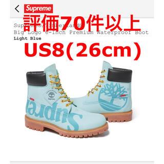 シュプリーム(Supreme)の【teruさん専用】supreme timberland blue 水色 青(ブーツ)