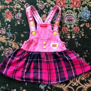 ベビードール(BABYDOLL)のBABYDOLL  ジャンパースカート 90(スカート)