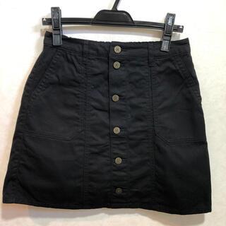 レピピアルマリオ(repipi armario)の【値下げ】レピピ   アルマリオ スカートパンツ 黒色(スカート)