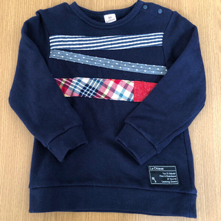 キムラタン(キムラタン)のキムラタン ラキエーベ 子供服 トレーナー サイズ95(Tシャツ/カットソー)