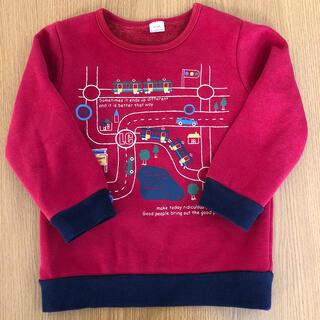 キムラタン(キムラタン)のゆっこ様専用 キムラタン ラキエーベ 子供服 トレーナー サイズ100(Tシャツ/カットソー)