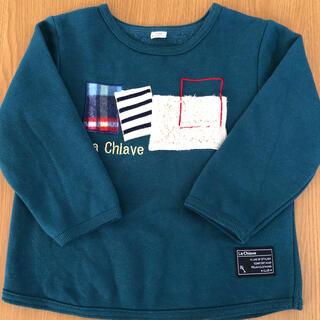 キムラタン(キムラタン)のキムラタン ラキエーベ 子供服 トレーナー サイズ100(Tシャツ/カットソー)