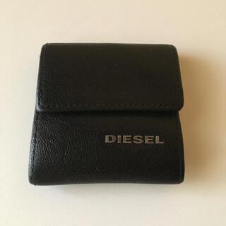 ディーゼル(DIESEL)のディーゼル 小銭入れ コインケース ブラック 送料込(コインケース/小銭入れ)