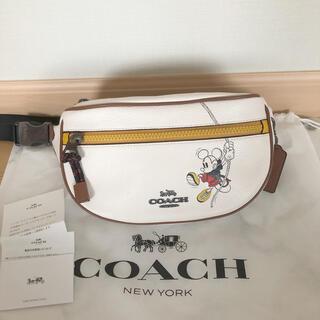 COACH - 【新品】Disney x Coach   ウェストポーチ ボディバッグ