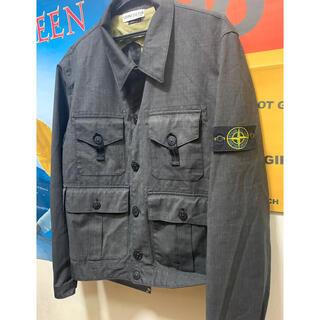 ストーンアイランド(STONE ISLAND)のstone island military utility jacket(ミリタリージャケット)