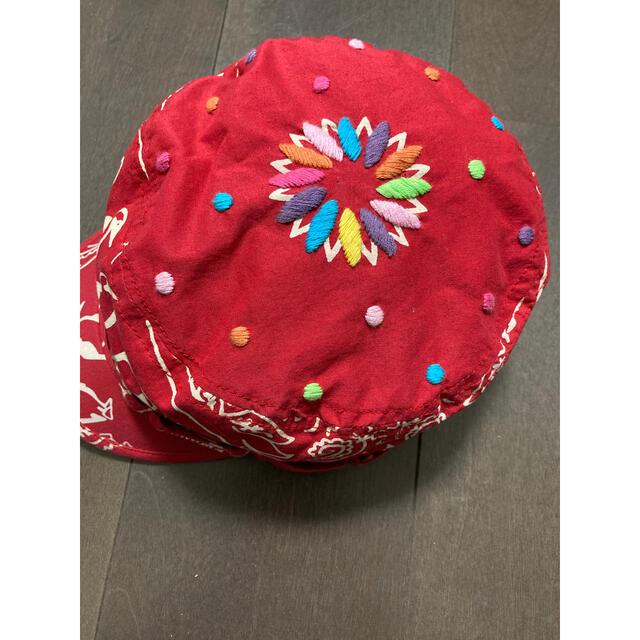 CHUMS(チャムス)のCHUMS 刺繍ワークキャップ レディースの帽子(キャップ)の商品写真