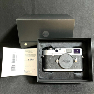LEICA - 【新品同様】ライカ M-A Typ127 シルバー フィルムカメラ【保証書あり】