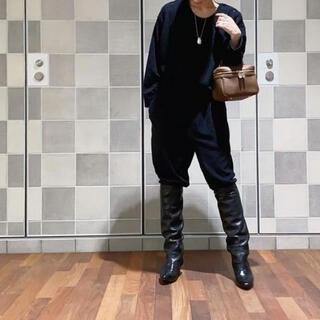 アパルトモンドゥーズィエムクラス(L'Appartement DEUXIEME CLASSE)のAP studio miista ミスタ ローヒールロングブーツ 37 (ブーツ)