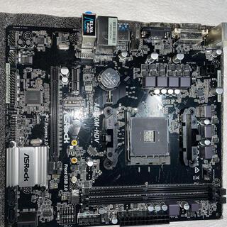 カツン様専用 ASRock AB350M-HDV(PCパーツ)