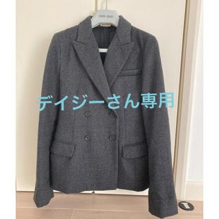 ミュウミュウ(miumiu)のMIUMIU ジャケット 美品(テーラードジャケット)