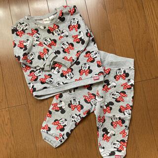 H&M - H&M ミニーちゃん パジャマ セットアップ