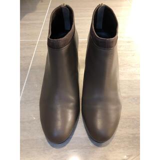 シップス(SHIPS)のSHIPS ショートブーツ ヒール7cm (Made in Japan)(ブーツ)