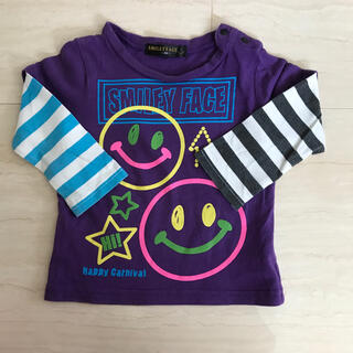 SMILEY FACE 90 シャツ 長袖 薄手(Tシャツ/カットソー)