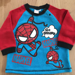 マーベル(MARVEL)のスパイダーマン トレーナー 90センチ(Tシャツ/カットソー)