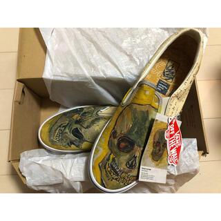 ヴァンズ(VANS)のVANS Slip-On Vincent van Gogh Skull 27.5(スニーカー)
