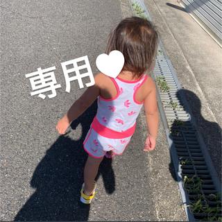 ヒステリックミニ(HYSTERIC MINI)のテディ🧸 チュニック 80(Tシャツ)