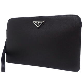 PRADA - プラダセカンドバッグ サフィアーノレザー NERO/ネロ ブラック黒
