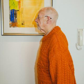マルタンマルジェラ(Maison Martin Margiela)のMAISON EUREKA 19AW mohair knit モヘアニット(ニット/セーター)