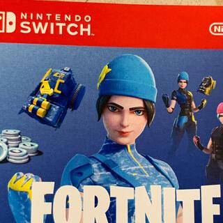 ニンテンドースイッチ(Nintendo Switch)のフォートナイトセット Switch ワイルドキャットバンドル コードのみ(家庭用ゲームソフト)