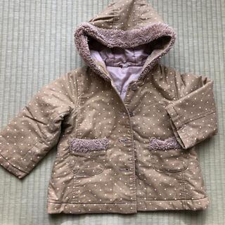 ムジルシリョウヒン(MUJI (無印良品))の100サイズ フード付きコート(コート)