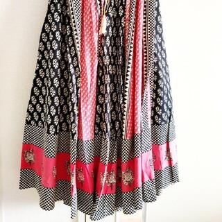 Dot&Stripes CHILDWOMAN - Dot&Stripes CHILD WOMAN サーキュラースカート(ピンク)
