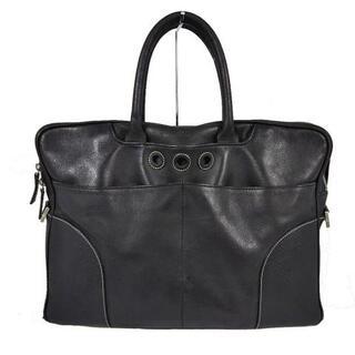 ダンヒル(Dunhill)のダンヒル ビジネスバッグ - 黒 レザー(ビジネスバッグ)