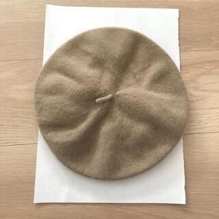ロペピクニック(Rope' Picnic)のロペピクニック ベレー帽 ベージュ(ハンチング/ベレー帽)