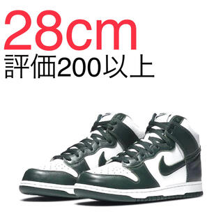 ナイキ(NIKE)のNIKE DUNK HIGH PRO GREEN 28cm(スニーカー)