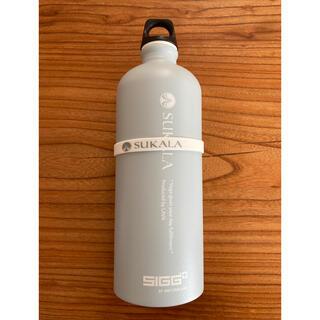 シグ(SIGG)のラバ 水素水ボトル スモーキーブルー(ヨガ)
