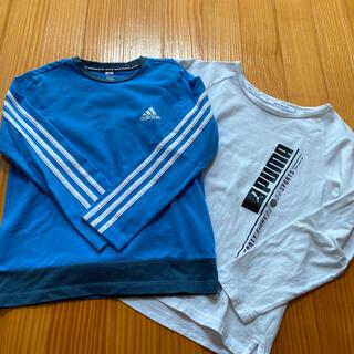 アディダス(adidas)のPUMA  adidas 長袖 Tシャツ 2枚セット 140(Tシャツ/カットソー)