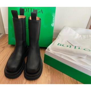 ボッテガヴェネタ(Bottega Veneta)の専用【新品未使用】都内直営店購入 ボッテガ ヴェネタ ブーツ 36(ブーツ)