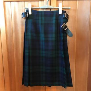 オニール(O'NEILL)のO'NEIL OF DUBLIN / サイドベルト キルトスカート(ひざ丈スカート)