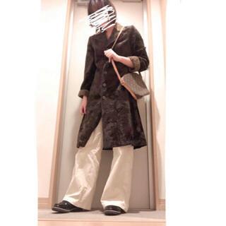 ロキエ(Lochie)の【着画あり】古着 vintage ファー ロングコート(毛皮/ファーコート)
