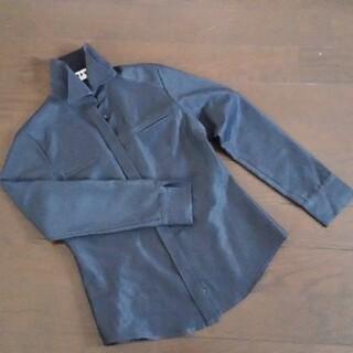 レディース 濃グレー 長袖シャツ サイズ38(シャツ/ブラウス(長袖/七分))
