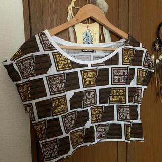 アナップ(ANAP)のANAP チョコレートTシャツ(Tシャツ(半袖/袖なし))