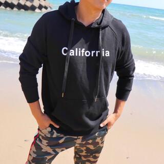 デウスエクスマキナ(Deus ex Machina)の西海岸ファッション☆LUSSO SURF カリフォルニア パーカー Lサイズ(パーカー)