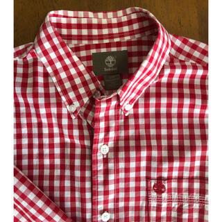 ティンバーランド(Timberland)のティンバーランド ギンガムチェックボタンダウンシャツ(メンズ)(シャツ)