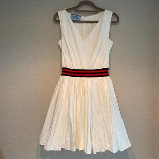 プラダ(PRADA)のPRADA プラダ ワンピース ドレス(ミニワンピース)