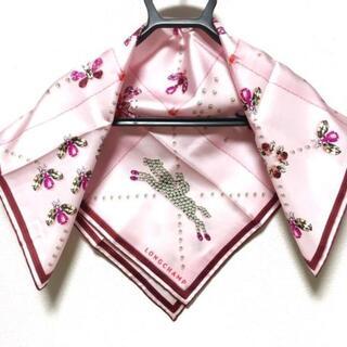 ロンシャン(LONGCHAMP)のLONGCHAMP(ロンシャン) スカーフ美品 (バンダナ/スカーフ)