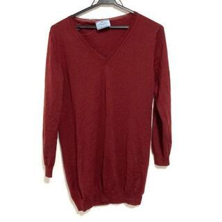 プラダ(PRADA)のプラダ 長袖セーター サイズ40 M - Vネック(ニット/セーター)