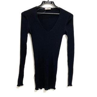 プラダ(PRADA)のプラダ 長袖セーター サイズ38 S - 黒(ニット/セーター)
