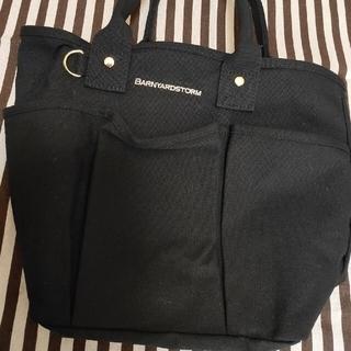 バンヤードストーム(BARNYARDSTORM)のバンヤードストーム トートバッグ 黒色 雑誌ノベルティ品(トートバッグ)