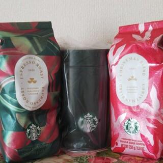 Starbucks Coffee - スターバックス☆ホリデー2020 限定コーヒー豆2袋&キャニスター缶☆スタ